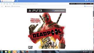 HOW  to download DEADPOOL game for pc