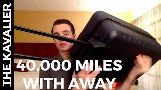 40,000+ miles traveled in 3 months with the Away Suitcase - Full Review