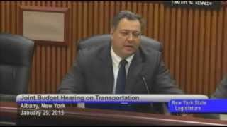 Joint Legislative Budget Hearing on Transportation - 01/29/15