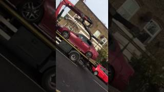 Car accident rolled back