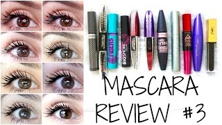 Mascara Reviews || BEST & WORST || Mostly Drugstore + EYE PICTURES