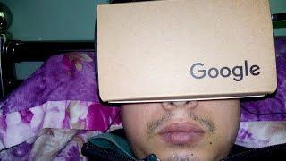 গুগল কার্ড বোর্ড দিয়ে মোবাইলেই দেখুন 3D  ভিডিও - Google Card Board Unpacking