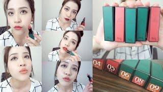 Dolly's MakeUp-box Bbia/Bbi@CP值爆表霧面唇彩試色分享