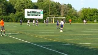Quebec AAA Soccer U16. Chomedey 3-0 Blainville. 3rd Goal