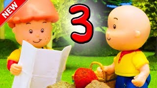 ★NEW★ COUNTING IN THE WOODS | Funny Animated cartoons Kids | Cartoon Movie | Caillou Stop Motion