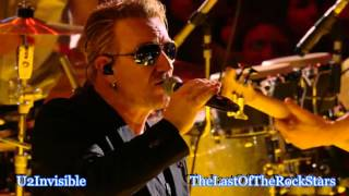 U2 - Ordinary Love - Paris 12/6/15 - Pro Shot - HD