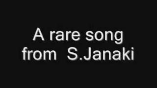 Rare Janaki Song (Pathai Theriyuthu Paar).wmv