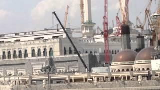 Makkah haram Masjidh Construction Work On Progress