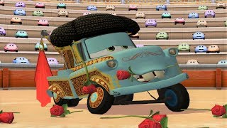 Cars Toon Mater's Tall Tales - El Materdor Kids Video Game Movie HD