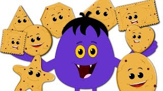Cookies Shapes | Learning Video For Kids | Shapes Song | Nursery Rhymes