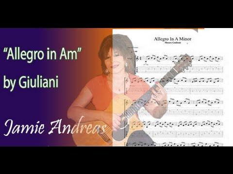 Xxx Mp4 Classical Guitar Lesson Allegro By Mauro Giuliani 3gp Sex