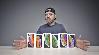 Unboxing Every iPhone XS + XS Max