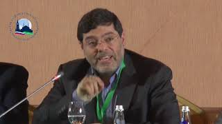 Mohammad Marandi at the third forum of Journalists From Muslim Countries Against Extremism