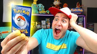 I PULLED A $200 GOLD STAR POKEMON CARD FROM A VINTAGE PACK!