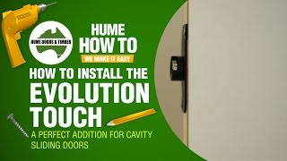How to install the Evolution Touch