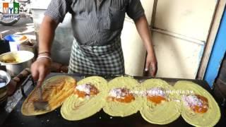 BUTTER MASALA DOSA | FAMOUS MYSORE BREAKFAST RECIPE | INDIAN STREET FOODS  2016 | 4K VIDEOS