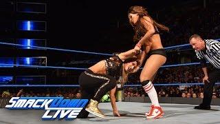 Nikki Bella & Naomi vs. Natalya & Carmella: SmackDown LIVE, Sept. 27, 2016