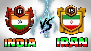 🔥 LIVE | INDIA VS IRAN 🔥 DEADLY BATTLE || Clash Of Clans LIVE