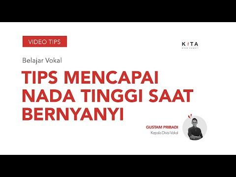 Belajar Vokal : Tips Mencapai Nada Tinggi Saat Bernyanyi - Gustam Pribadi