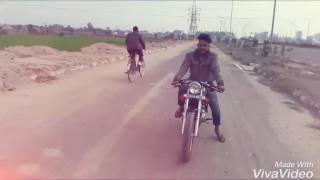 Bike stunt . wajid ali