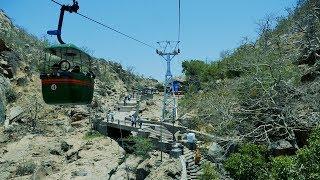 Rajasthan Sundha Mata Ropeway full HD Video. Sundha Mataji lift.Rajasthan Mountain Temple