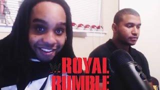 WWE Royal Rumble 2016 FULL MATCH Live Reactions!!