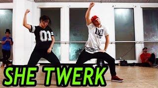SHE TWERK - CA$H OUT Dance | @MattSteffanina Choreography (@TheRealCashOut)