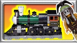 LEGO Lone Ranger Constitution Train set 79111 build review