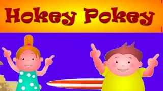 Hokey Pokey Song With Lyrics - Nursery Rhymes For Children