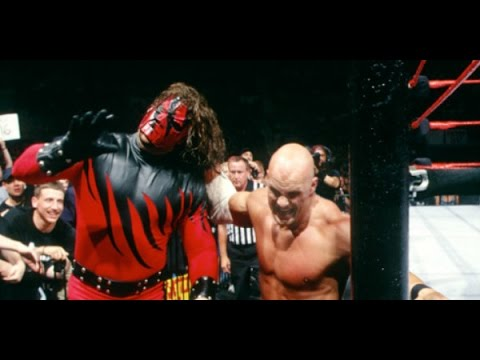 WWF Stone Cold Steve Austin vs Kane First Blood Match WWF Championship King of the Ring 1998