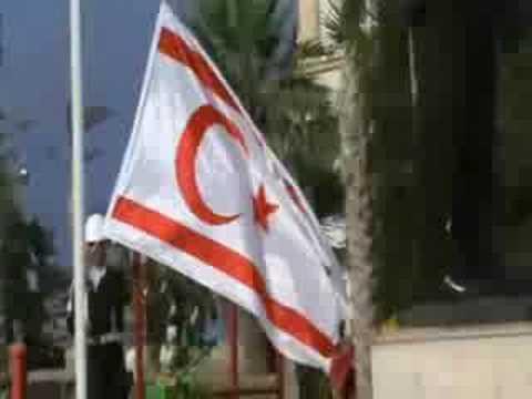Kıbrıs Bayrak Töreni kibris1974