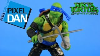 Leonardo Teenage Mutant Ninja Turtles Out of the Shadows Movie Figure Video Review