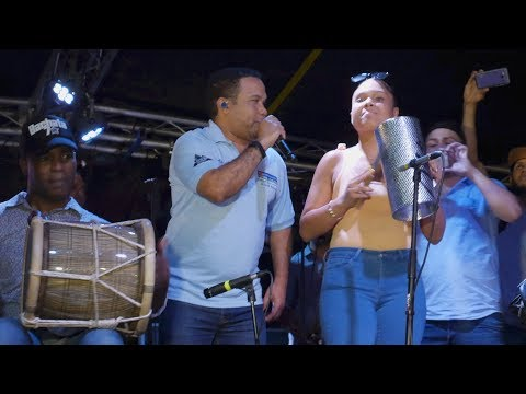 Nati Guira Tocando con Hector Acosta El Torito La Chiflera