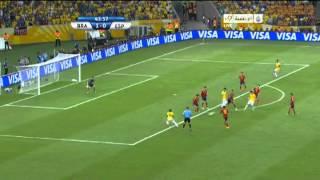 Spain Vs Brazil -Neymar AMAZING Goal