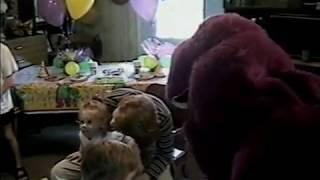 1998 Abbeygail Jordan Birthday Party with Barney