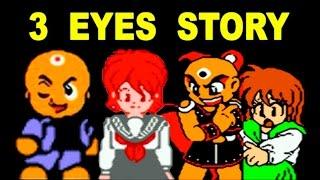 Mitsume Ga Tooru (Трёхглазый) / 3 Eyes Story / Третий Глаз прохождение (NES, Famicom, Dendy)