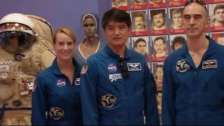 Expedition 48-49 Crew Final Launch Preparations in Kazakhstan
