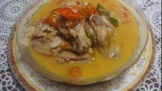 Cara Memasak dan Resep Garang Asem Ayam