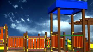 playground area designed also for kids with special needs