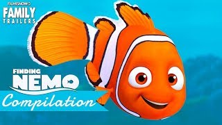 FINDING NEMO | All the BEST MOMENTS Clips & Trailer compilation - Disney Pixar Movie
