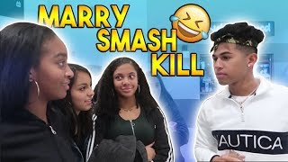 MARRY, KILL, OR SMASH PUBLIC INTERVIEW! (HILARIOUS)