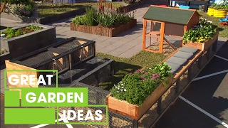 Create the ultimate family garden