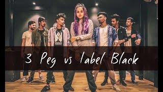 3 PEG vs LABEL BLACK   One Take   Tejas Dhoke Choreography   DanceFit Live