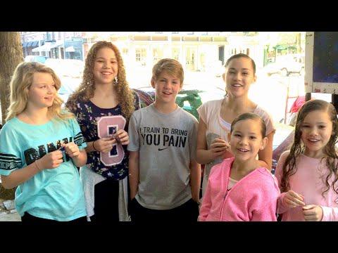 The Warhead Challenge MattyBRaps Haschak Sisters Carissa Adee