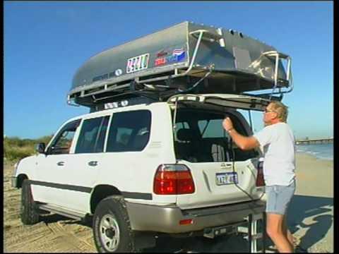 подъем лодки на багажник