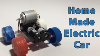 How to make a simple electric car at home