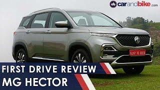 MG Hector First Drive Review | NDTV Carandbike