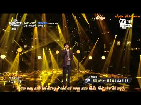 [Vietsub + kara] 141120 광화문에서(At Gwanghwamun) @M!Countdown - Kyuhyun #Kyuhyun