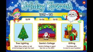 Holiday Blowout 2013, Polar Express 2015 Fantage music