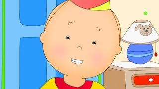 Funny Animated cartoon Kid | Caillou throws a party | WATCH CARTOON ONLINE | Cartoon for Children